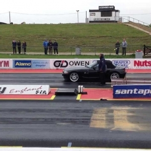 Zedwheels hits the Santa Pod Strip